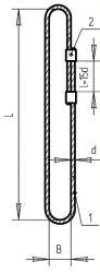 Строп кольцевой СКК1 или универсальный УСК2